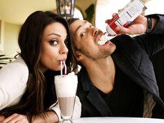Mila Kunis and Justin Timberlake.