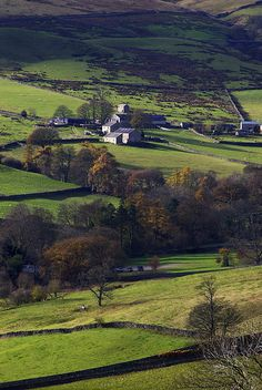 The Shire:  #Nidderdale, Yorkshire, #England.