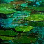 (c) Patt Scrivener - Pond Study Pond, Study, Nature, Painting, Life, Water Pond, Studio, Naturaleza, Painting Art