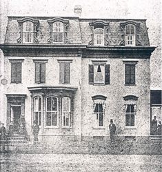 Rare Photo of Frederick Douglass in Front of His Home Rare Photos, Old Photos, Home Still, Frederick Douglass, The Orator, Capitol Hill, Still Standing, Park Service, Capital City