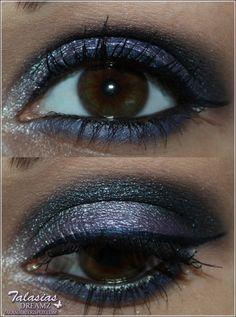 Eye Make Up - Datum: 04.06.2012  http://talasia.blogspot.de/2012/06/amu-swatch-beni-durrer-sternenstaub.html