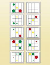 Cylinder Diameter Cards | Montessori Research and Development - Montessori materials, teacher manuals and books