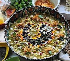 """Persian food """"Ash Reshteh"""" Love this"""