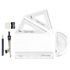 Oxford classic maths set - All Desk Accessories - Desk Accessories - Stationery Cute Desk, School Essentials, Paperchase, Home Schooling, Desk Accessories, Creative Home, Math Lessons, School Supplies, Back To School