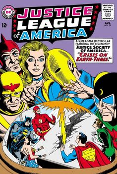 Justice League of America #29 - Crisis on Earth-Three!