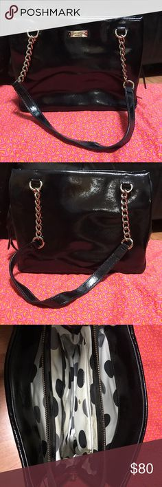 Kate Spade Satchel Used but in excellent condition. Only some scratch on the front metal logo. kate spade Bags Satchels