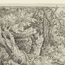 Gnarled Trees near the Water, Roelant Savery, 1605 - 1639 - Rijksmuseum Holland, Vintage World Maps, Water, Trees, Van, Baroque, Illustrations, Flamingo, Shop Signs