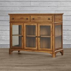Wood Buffet, Buffet Cabinet, Sideboard Buffet, Credenza, China Buffet, Interior Led Lights, Solid Wood Furniture, Amish Furniture, Office Furniture