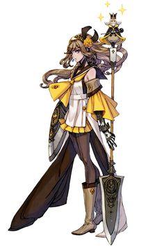 Samatha - Characters & Art - Terra Battle #萌妹子 #服饰