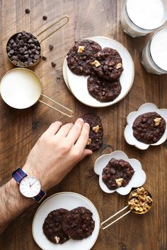 Nutty Chocolate Brookies! — Probably This
