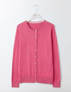 #Boden Cadence Cardigan Rose Blossom Women Boden, Pink #If you thought cardigans couldnt be fancy, think again. Made from a cotton blend, this one features pretty gold buttons to brighten up chilly afternoons (or over-air-conditioned offices).
