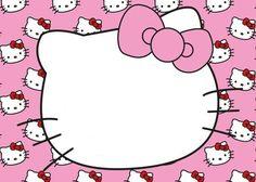 Hello Kitty Invitación