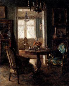 An Interior, Viktor Scharf. Germany (1872 - 1943)