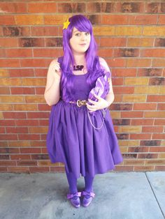 My Lumpy Space Princess Costume (pic heavy) - CLOTHING  - Knitting, sewing, crochet, tutorials, children crafts, jewlery, needlework, swaps, papercrafts, cooking and so much more on Craftster.org
