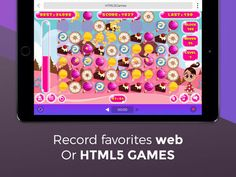 Game Recorder Pro: Record HTML5 games & websites Utilities...: Game Recorder Pro: Record HTML5 games & websites… #ipadUtilitiesProductivity