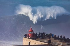 Watch as Nazaré reaches massive new heights | Via Red BUll surfing | 20/01/2018 The swell forecast promised one of the biggest ever days of surf at Nazaré, and it didn't disappoint. Witness Portugal's giant turn it up to the max. #Portugal #Surfing #Nazaré