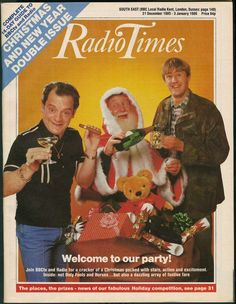 For many, the Christmas 'Radio Times' is a tome of wonder during the festive period. Take a look at how times have changed with Christmas covers spanning 90 years. 1980s Christmas, Christmas Cover, Christmas Past, Vintage Christmas, Christmas Comics, Christmas Specials, Old Time Christmas, Magical Christmas, Radio Times Magazine