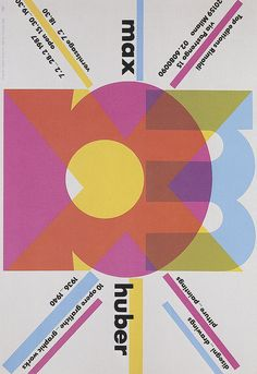 Max Huber, Cover: Max Huber Drawings, Paintings, 10 Graphic Works 1936-1940