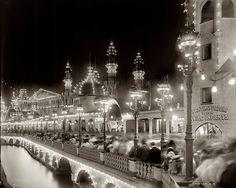 Luna Park at Coney Island circa 1905.