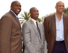 The 3 greatest LA Lakers ever? Erwin 'Magic' Johnson, Kobe Bryant and Kareem Abul-Jabbar