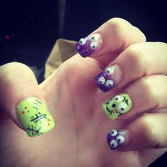 Holloween nails!