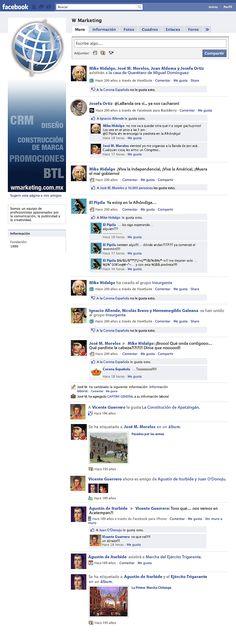 independencia de mexico en facebook