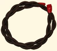 - 2 Core braided electrical cable - Priced per meter