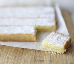 Barras de limón / Lemon bars   En mi cocina hoy