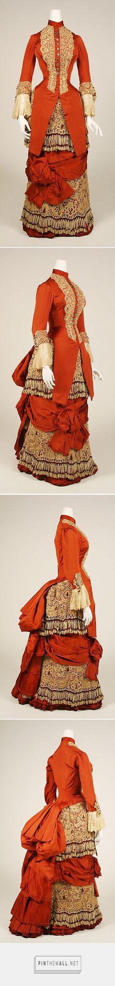 Dress ca. 1880 American | The Metropolitan Museum of Art