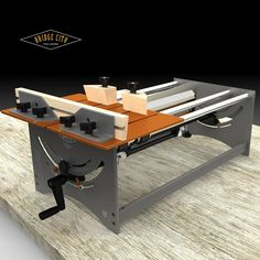 """Brilliant design for a """"hand"""" table saw. $1,400"""