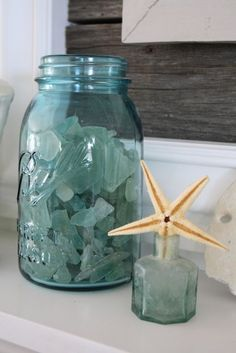 """I love sea glass - it is nature, """"redesigning"""" our creations and turning them into art.  earthwhorls.com"""