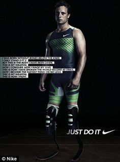 Pre-Paralympics: The advert dates back to 2011The advert dates back to 2011