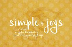 Simple Joys Font | dafont.com