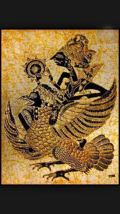Indonesian Wayang Kulit depicted here in batik Nature Symbols, Patterns In Nature, Nature Pattern, Summer Nature Photography, Muster Tattoos, Indonesian Art, Batik Art, Batik Pattern, Shadow Puppets