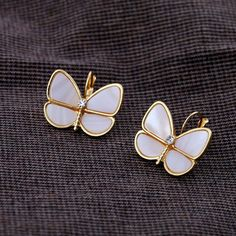 Sweet Natural Shell Butterfly Earring