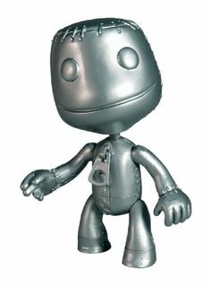 Mezco Toyz Platinum Sackboy by Mezco Toyz. $11.34. Toy from the game Little Big Planet. Each character is separately packaged and features 7 points of articulation. Little Big Planet figure with movable parts. Platinum Sackboy with closed smile mouth, pop-it lasso, and sticker sheet.. Save 29%!