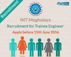 NIT Meghalaya Recruitment
