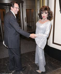 2016.10.01  Glamour queen: Dame Joan Collins put on yet another dazzling display at the Shooting Star ...