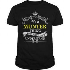 Good buys MUNTER Shirts personalized, I love MUNTER sweatshirt