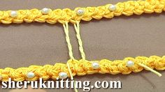 CROCHET TWISTED BRIDE http://sheruknitting.com/videos-about-knitting/romanian-lace-ribbons-and-cords/item/634-crochet-twisted-bride.html Tutorial 50 Part 1 of 9.Brides (bars) are the narrow connections between the motifs of a lace that does not have a mesh ground. They are made in various ways depending on the lace technique.