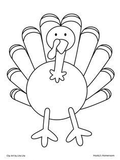 It's Turkey Time! *FREEBIE* - I am NOT a turkey project with a parent letter and template included! Fun!!!