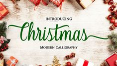13 great free Christmas fonts Christmas Fonts, Technical Writing, Information Architecture, Instructional Design, Modern Calligraphy, Festive, Cheer, Typography, Branding