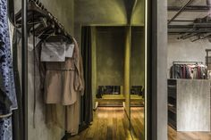 OUALLIN clothing office and showroom by Bernard Space Design, Tianan Cyber Park – China » Retail Design Blog