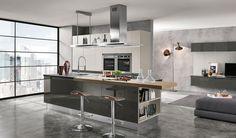 Cucina moderna grigia Febal 03 | Cucine | Pinterest