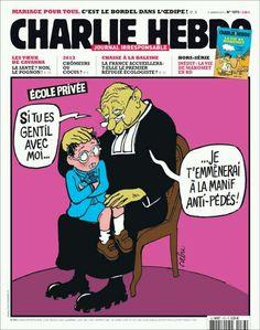 Une de Charlie-Hebdo du 09.01.13