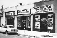 Dirty Sally's Adult Parlor in Hollywood