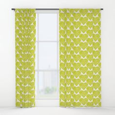 """Your drapes don't have to be so drab. Our awesome Window Curtains transform a neglected essential into an awesome statement piece. Featuring a single-sided print with a reverse white side.     - Dimensions: 50"""" (W) x 84"""" (H)   - Available in single or double panel options   - Crafted with 100% lightweight polyester, blocks out some light   - 4"""" hanging pocket for easy hanging on any rod   - Single side print on front with reverse white side   - M... Window Curtains, Custom Design, Pocket, Blanket, Pillows, Awesome, Easy, Fabric, Pattern"""