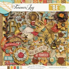 Be by ForeverJoy Designs Available at the Lilypad: http://the-lilypad.com/store/FOREVERJOY-BE-Page-Kit.html