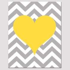Hey, I found this really awesome Etsy listing at https://www.etsy.com/listing/107236826/chevron-heart-11x14-print-kids-wall-art