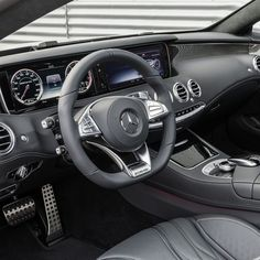 Command central.   #S63 #AMG #SCoupe #Coupe #mercedes #benz #instacar #4MATIC
